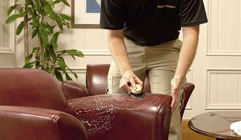 leather furniture cleaning